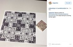 from the Balzer Designs Blog: #CarveDecember 2015: Days 1-6 #stampcarving #Linocut Fabric printing
