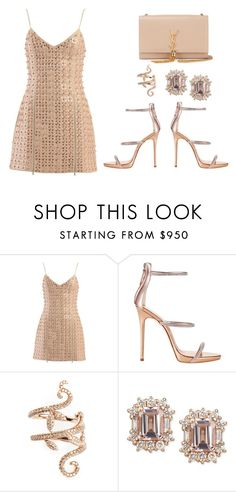 """""""Untitled #209"""" by desiremeb ❤ liked on Polyvore featuring Giuseppe Zanotti, Elise Dray and Yves Saint Laurent"""