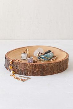 Wood Slab Catch-All Dish - Urban Outfitters