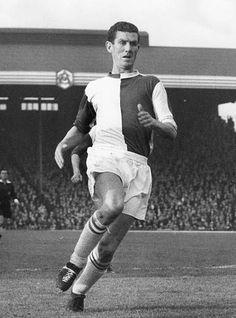 Ronnie Clayton of Blackburn Rovers in 1962.