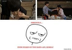 Aw, where would the fun be in that? Besides, Kim Bum can lick my finger any day. ;)