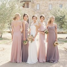 Custom Made Luscious Bridesmaid Dresses For Cheap, Bridesmaid Dresses Chiffon Custom Bridesmaid Dress, Cheap Bridesmaid Dress, Bridesmaid Dress Chiffon Bridesmaid Dresses 2018 Different Bridesmaid Dresses, Summer Bridesmaid Dresses, Wedding Bridesmaids, Wedding Tips, Wedding Dresses, Wedding Reception, Trendy Wedding, Bridesmaid Poses, Bridal Tips