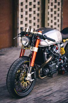 News story online about Sacha Lakic & his Honda CX500 http://sebastiennunes.com