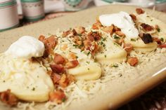 Perogies With Potato, Cream Cheese And Bacon Filling Slovakian Food, Ukrainian Recipes, Peeling Potatoes, Stop Eating, The Dish, Bacon, Food And Drink, Stuffed Peppers, Cheese