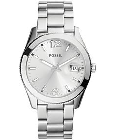 Fossil Women's Perfect Boyfriend Stainless Steel Bracelet Watch 39mm ES3585 - Fossil - Jewelry & Watches - Macy's