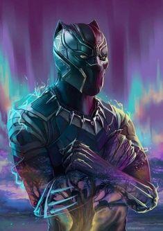 Black Panther Marvel, Black Panther Images, Black Panther Art, Marvel Comics, Marvel Art, Marvel Heroes, Marvel Avengers, Avengers Live, Black Panther Hd Wallpaper