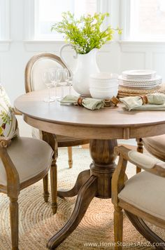 Refinish Kitchen Table and Chairs. 20 Refinish Kitchen Table and Chairs. How to Refinish A Table Oak Table, Dining Room Table, Table And Chairs, Wood Tables, Rustic Table, Farmhouse Table, Wood Furniture Colors, Colorful Furniture, Furniture Design