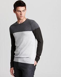 Burberry London Carlton Color Block Sweater | Bloomingdale's