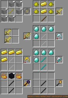 Epic Weapons Mod para Minecraft 1.7.2 - Million friends blog