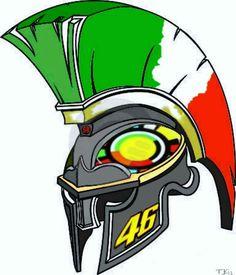 Yo soi de la Legión rossista!! Valentino Rossi Logo, Valentino Rossi Yamaha, Fox Racing Logo, Vr46, Ducati Monster, Helmet Design, Cycling Art, Cars And Motorcycles, Fanart