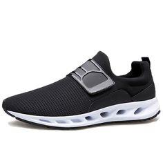 [US$59.99] Mesh Hook Loop Breathable Soft Sole Casual Sneakers #mesh #hook #loop #breathable #soft #sole #casual #sneakers