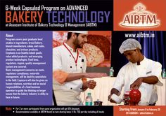 New Batch of #6-WeekCapsuledProgram on #AdvancedBAKERYTechnology at #AIBTM from January 9, 2017. Register fast at aibtm@aibtm.in