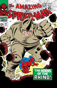 The Amazing Spider-Man #41 - October 1966 cover by John Romita Sr