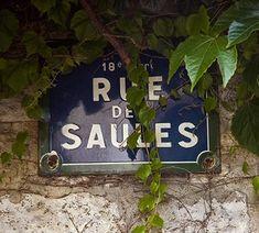 Les rues de Paris | rue des Saules | 18ème arrondissement