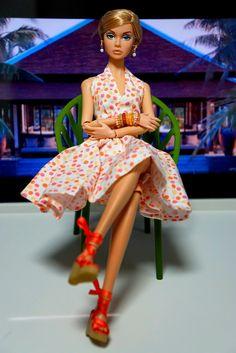 #PoppyParker #Doll poppy in the luxury resort