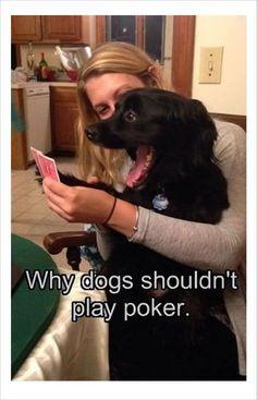 Poker face fail