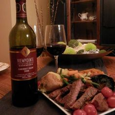 March 30, 2014 - Viewpointe Estate Winery's 2008 Cabernet Franc VQA with Family Steak and Vegetable Platter. Spring into Health! - See more at: http://www.essexcountywineries.ca/wines/2014/20140330.htm#sthash.AR1iMiFV.dpuf