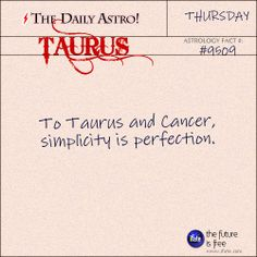 Daily astrology fact from The Daily Astro! Your horoscope for today is waiting for you, Taurus. Visit iFate.com today!