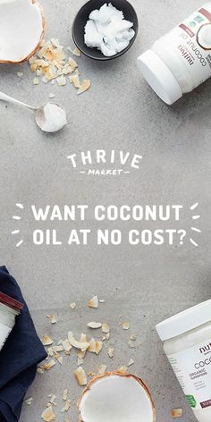 [Ad] Get your FREE jar of Nutiva organic, virgin coconut oil at Thrive Market…