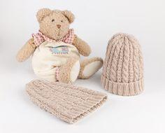 strikke - Google-søk Knit Crochet, Beanie, Teddy Bear, Knitting, Hats, Crocheting, Hobbies, Craft Ideas, Animals