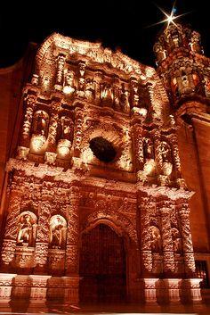 Catedral - Zacatecas - México By myrmardan