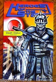 Heroes Of The Stars,Death Walker figure,Toy art,,Star Wars, MOTU,TMNT, bootleg