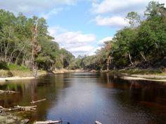 Big Shoals State Park   White Springs, Florida. Photo by John Bodnar