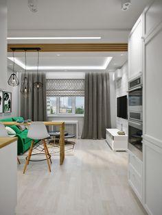 62 Super Ideas for kitchen design loft layout Kitchen Diner Lounge, Kitchen Dinning Room, Apartment Kitchen, Kitchen Interior, Kitchen Decor, Kitchen Small, Loft Kitchen, Home Office Design, House Design