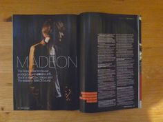 MADEON IS IN A MAGAZINE