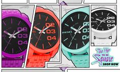 Diesel Watches: Too Hip To Be Square