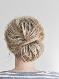 Image result for low chignon
