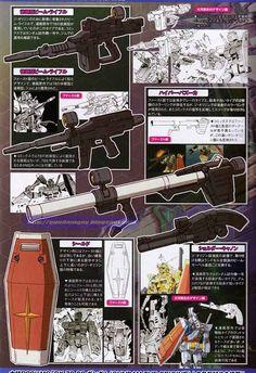 Mobile Suit Gundam The Origin: Mechanical Archives - Image Gallery ガンダム The Origin, Robot Series, Japanese Robot, Gundam Mobile Suit, Gundam Art, Mecha Anime, Weapon Concept Art, Gundam Model, Character Concept