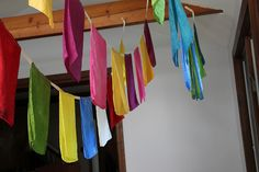 silk flags * prayer flags * handmade by gypsy forest