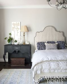 This bedroom from @tishmills is slightly more traditional than we usually go but still modern in its own divine way. Would you like this one to win? Double tap! #bedroom #master #masterbedroom #bedroomupdate #bedroomdesign #copycatchic #roomredo #CopyCatChic