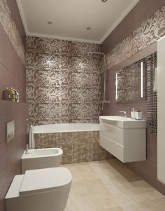 Apartment Bathroom Inspiration Showers 46 Ideas For 2019 Bathroom Design Luxury, Bathroom Design Small, Bathroom Interior, Contemporary Bathrooms, Modern Bathroom, Apartment Chic, Home Decor Kitchen, Bathroom Inspiration, House Design