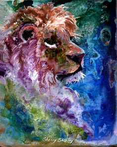 Mystic Lion by Sherry Shipley