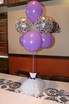 Bridal shower centerpiece