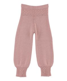 Take a look at this Pink Saga Wool-Blend Pants - Girls by Mole - Little Norway on #zulily today!