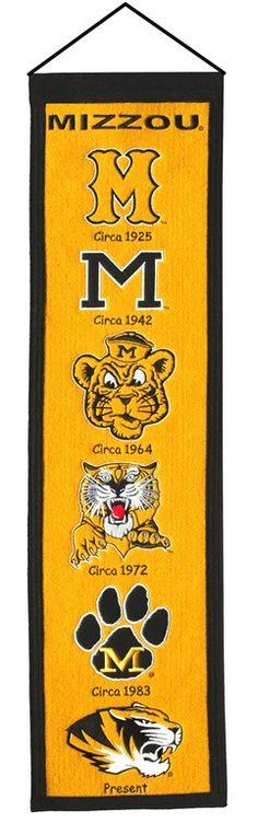 Missouri Tigers Heritage Banner