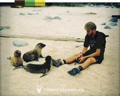 We are born in the Galapagos Islands.  A natural wonderland of our world.