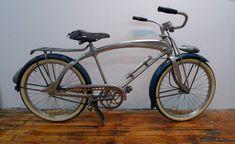 1937 - 1938 Monark Silver King Wingbar - Dave& Vintage Bicycles This. Cool Bicycles, Vintage Bicycles, Bicycle Types, Recumbent Bicycle, Lowrider Bike, Old Bikes, Bike Parts, Bicycle Design, Tricycle