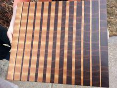 Custom End Grain Butcher Block. $200.00, via Etsy.