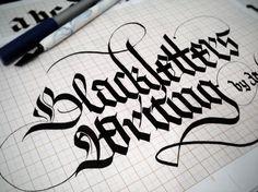Blackletters