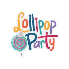 Designs | create a Fun logo for lollipop party | Logo & business card contest