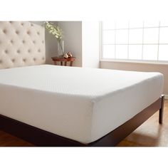 Sleep well and wake up refreshed when you use the Splendorest 10-inch Serene Performance foam mattress. Filled with billions of microscopic air capsules, Serene Performance foam helps you stay cool th