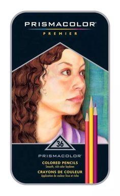 Prismacolor Premier Colored Pencils, Metal Tin Gift Set, 36 Colors, New & Sealed 70735928856   eBay