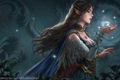 ArtStation - The Cursed Crown, Gabriela Dea Julia Elves Fantasy, Fantasy Rpg, Medieval Fantasy, Fantasy Artwork, Anime Artwork, Witch Characters, Fantasy Characters, Female Characters, Fantasy Character Design