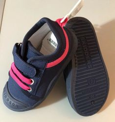 c1cebae1a59b Skidders Girls Shoes Size 7 Toddler NEW Navy Pink  fashion  clothing  shoes   accessories  kidsclothingshoesaccs  girlsshoes (ebay link)