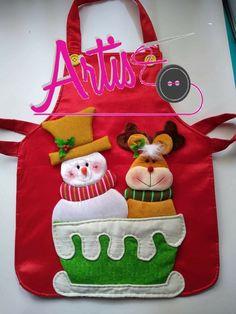 Christmas Chair, Christmas Aprons, Christmas Bows, Christmas Time, Christmas Crafts, Xmas, Christmas Ornaments, Fabric Boxes, Craft Sale