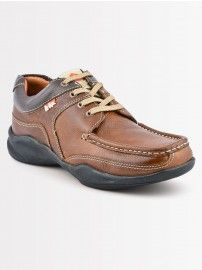Lee Cooper Men's Casual LC 9642 Brown Shoes